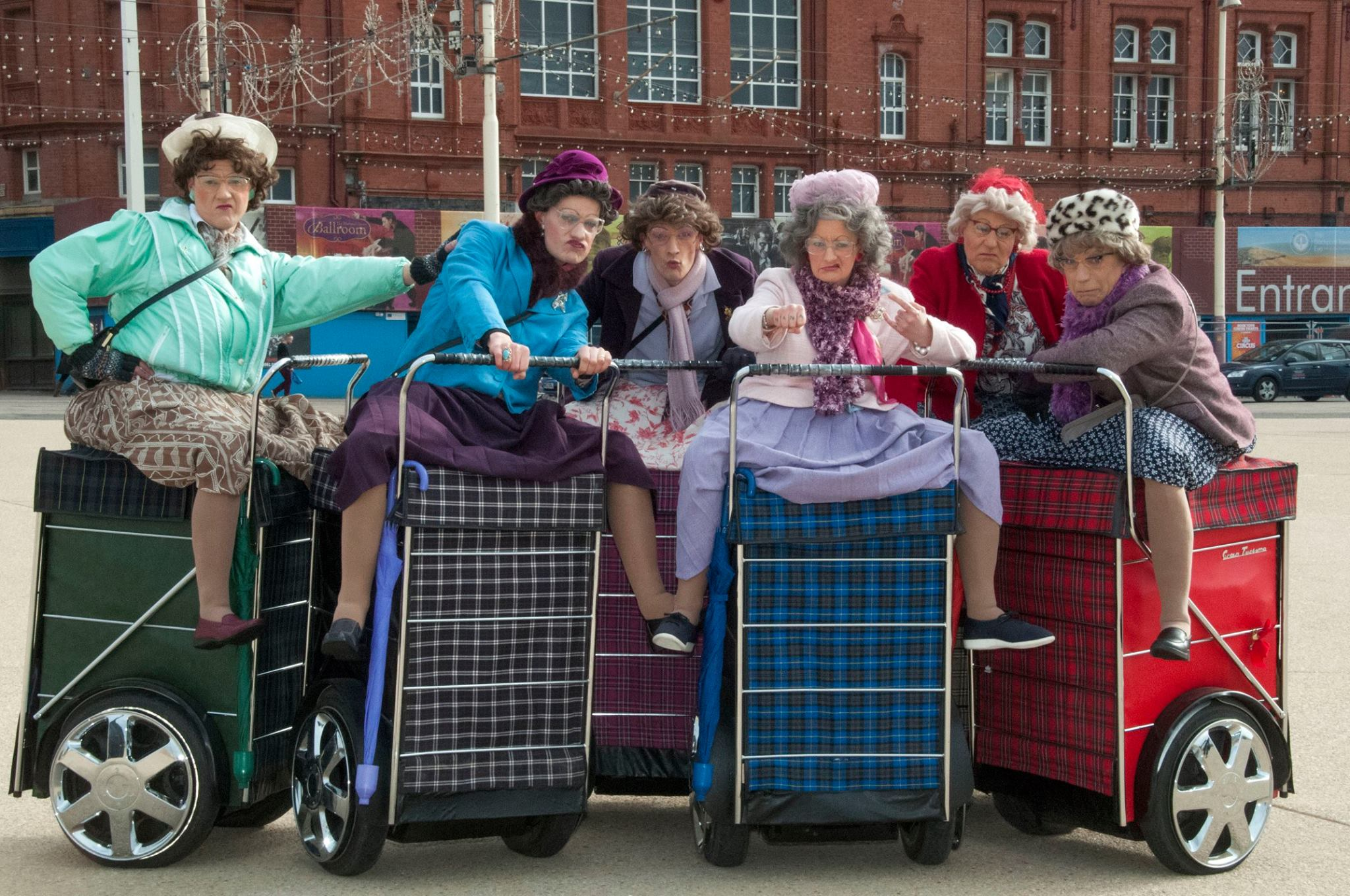 Granny Turismo Join Big Tin Shed